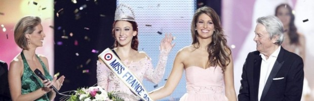 Delphine Wespiser, Miss France 2012